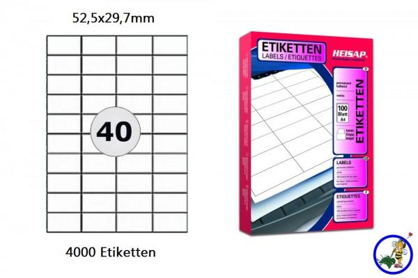 HEI004 Versandetiketten