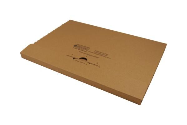Großbriefkarton GB2 345x245x20mm Fefco 0405