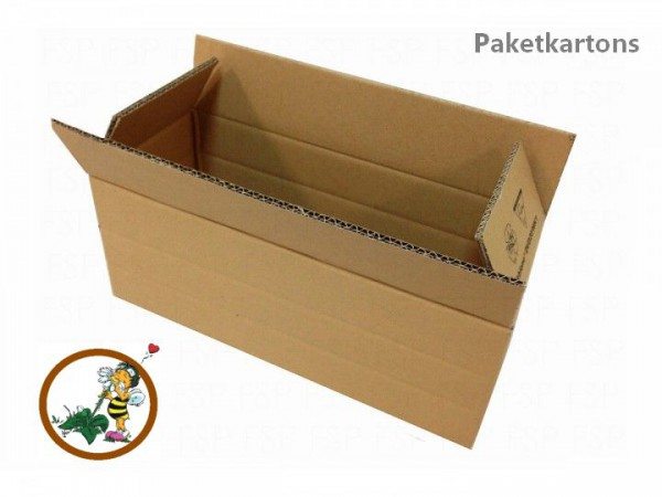 Faltkarton DVD20-WK1 380x150x140mm Fefco 0201